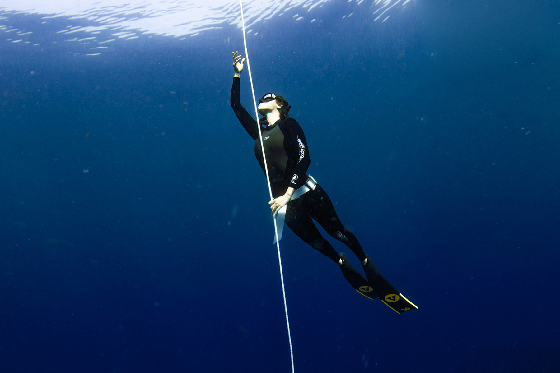 Level 1 freediver